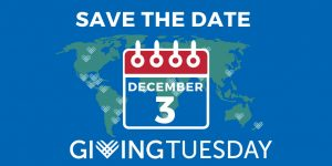 Save the Date Dec 3 2019 Giving Tuesday