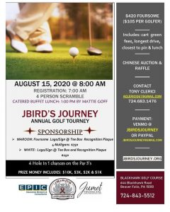 info on jbirdsjourney golf tournament